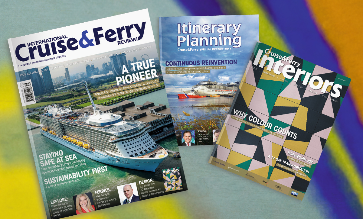 Out now: International Cruise & Ferry Review, Autumn/Winter 2017 issue