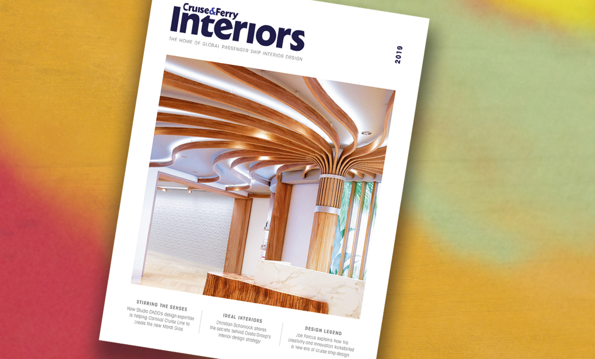 New issue of Cruise & Ferry Interiors launches at CSIE