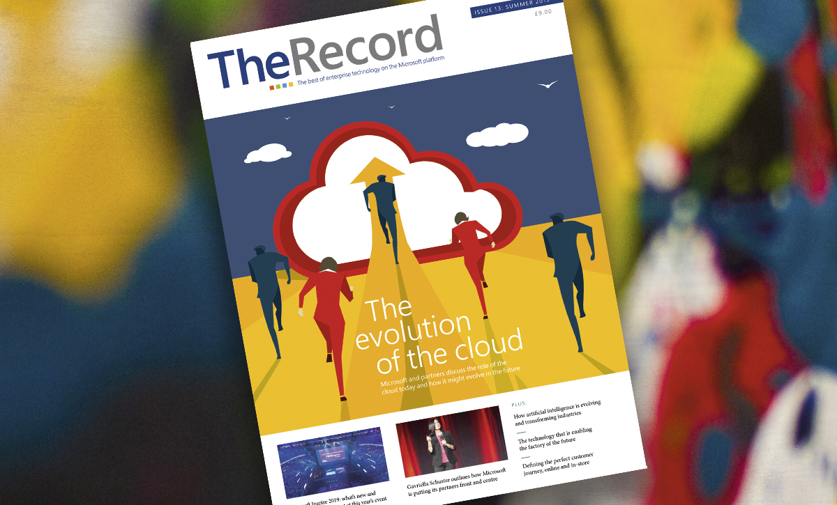 Microsoft Inspire takes centre-stage in latest issue of The Record