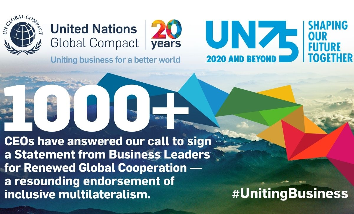 Tudor Rose joins over 1,200 organisations renewing support for the UN Global Compact's sustainable policies